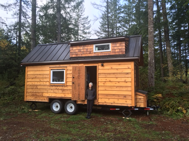 Moving A Tiny House In Bc Canada Tofino Tiny Home